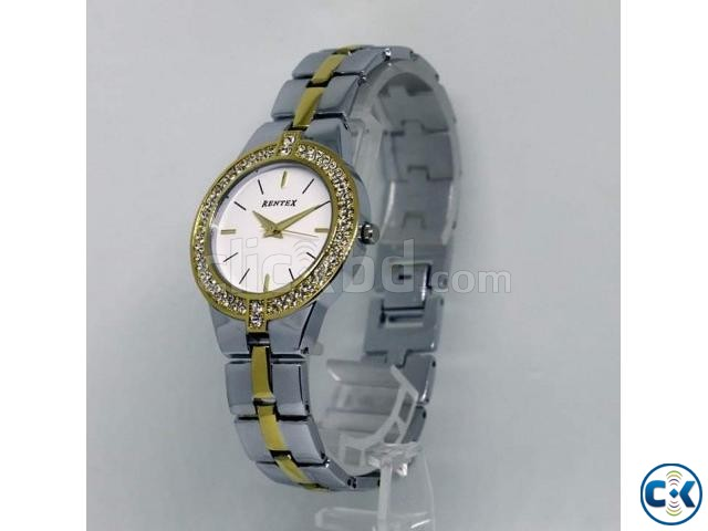 White Dial Silver Color Metal Strap Watch | ClickBD large image 1