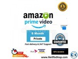 Amazon Prime Video 1 Screen 6 Month with warrenty