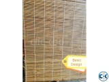 Bamboo Chick Curtain Roll type Natural Bamboo bamboo blind