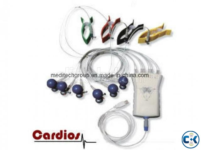 PC ECG device with Professional ECG Software CARDIOS  | ClickBD large image 3