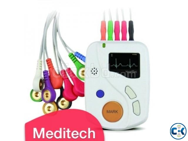 Manufacture durable ECG holter 48 hour ECG recording and PC | ClickBD large image 1
