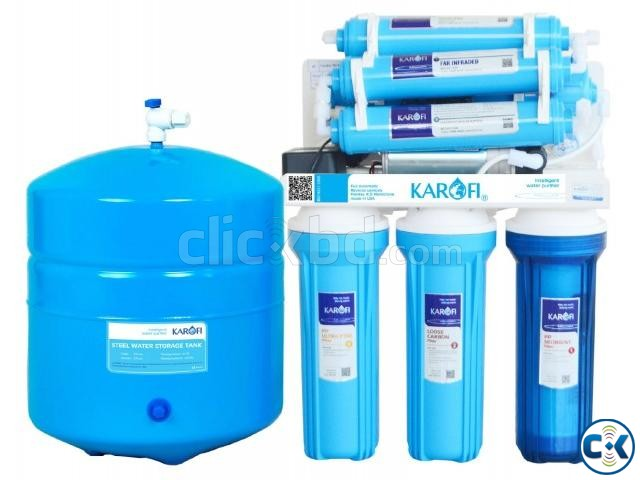 Karofi cover 7 stage RO Infrared water purifier | ClickBD large image 0