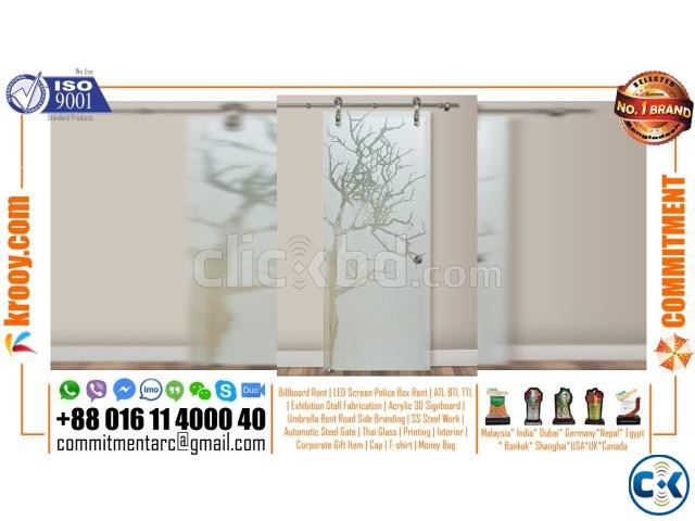 glass etching designs for partition decorative glass  | ClickBD large image 0