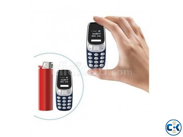 Ulex UX202 Mini Phone Dual Sim With Warranty | ClickBD large image 0
