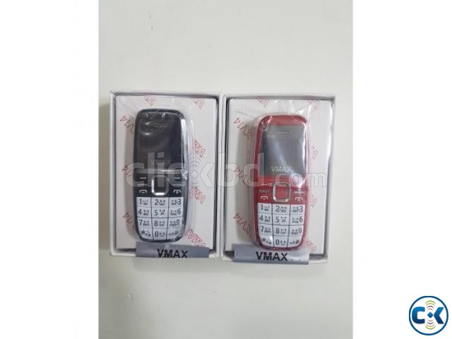 VMAX V14 Mini Phone Dual Sim 750mAh Battery With Warranty | ClickBD large image 1