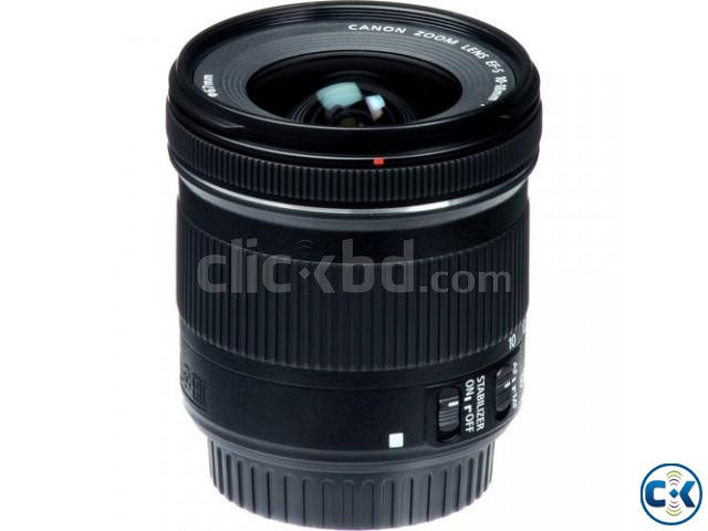 Canon EF-S 10-18mm f 4.5-5.6 IS STM Wide Angle Zoom Lens | ClickBD large image 2