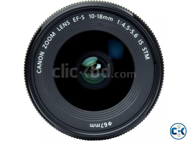 Canon EF-S 10-18mm f 4.5-5.6 IS STM Wide Angle Zoom Lens | ClickBD large image 3