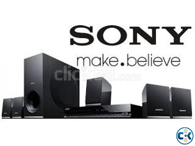 Sony TZ140 - 300W - 5.1Ch - DVD Home Theater - Black | ClickBD large image 1