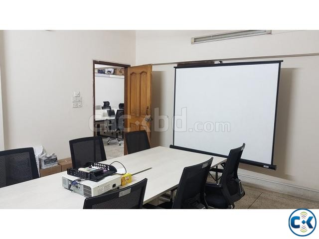 Rent Office Baridhara DOHS | ClickBD large image 1