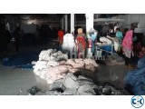 100 export running garment washing factory for sale or rent