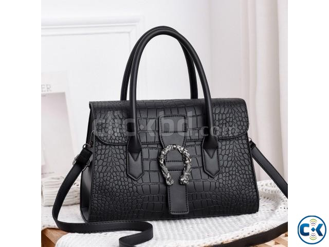 women bags fashion trend high-grade women stone pattern hand | ClickBD large image 0