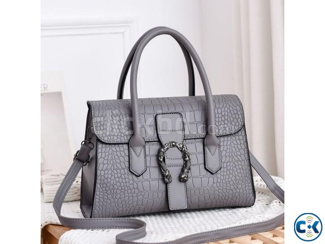 women bags fashion trend high-grade women stone pattern hand | ClickBD large image 1