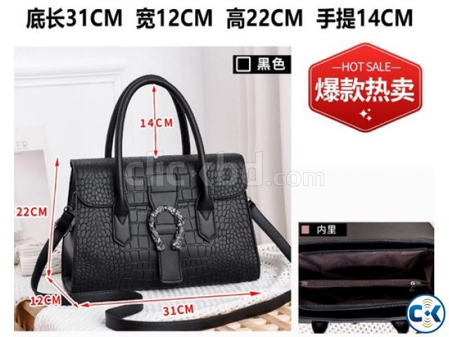 women bags fashion trend high-grade women stone pattern hand | ClickBD large image 2