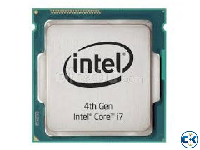 Processor Intel Cori7 4th Generation 3.40GHZ Only 11000TK | ClickBD large image 0