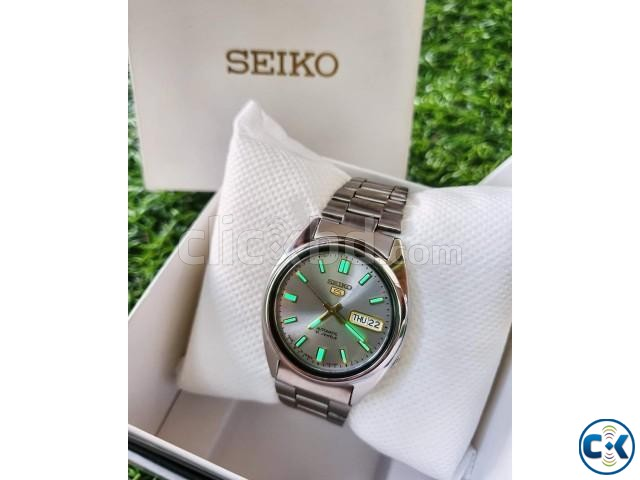 SEIKO 5 Glowing Automatic Original JAPAN Fullboxed | ClickBD large image 0