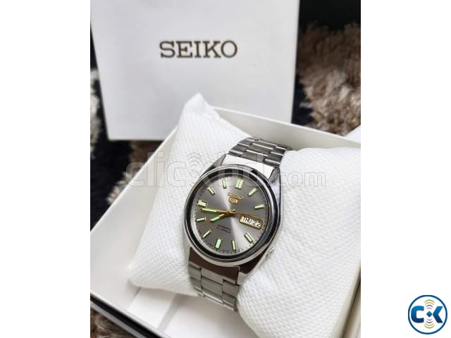 SEIKO 5 Glowing Automatic Original JAPAN Fullboxed | ClickBD large image 1