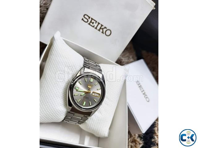 SEIKO 5 Glowing Automatic Original JAPAN Fullboxed | ClickBD large image 3