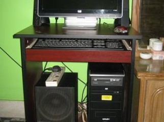 core2 DUO 2.93 .RAM 1 GB.HDD 320 GB. HP LCD 19 M