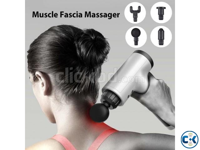 Rechargeable Body Massager Rechargeable Massage Gun | ClickBD large image 1