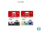 Canon original genuine PG-88 CL-98 black color ink cartridge
