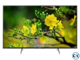 SONY 65 inch X7500H 4K ANDROID VOICE CONTROL TV