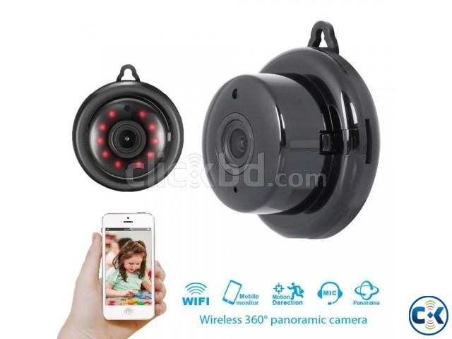 Mini IP Wifi Hook Camera | ClickBD large image 1