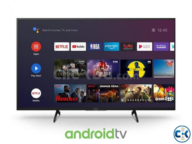 SONY 55 inch X8000H 4K ANDROID VOICE CONTROL TV | ClickBD large image 4