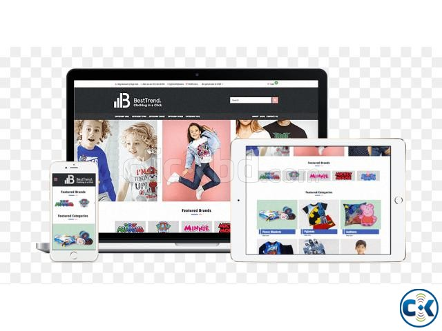 E-Commerce Website Development Fully Responsive | ClickBD large image 0