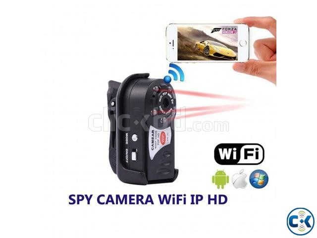 Spy Camera Night Vision Q7 P2P Wifi IP Camera Video with Voi | ClickBD large image 0