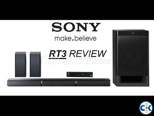 SONY HT-RT3 REAL 5.1CH DOLBY DIGITAL SOUNDBAR HOME THEATRE | ClickBD large image 2