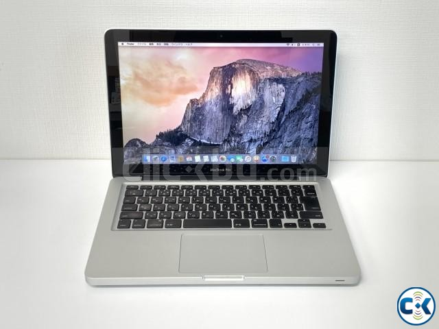 MACBOOK PRO C2D 4GB 128GB 13.3INC 2009YEAR MODEL | ClickBD large image 0