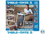 Foldable Table Adjustable Table Folding Table Mate 2