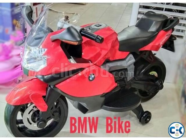 Original BMW Motor Bike With Rubber Wheel | ClickBD large image 0