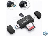2 in 1 SD Card Reader USB 3.0 OTG Micro USB Type C Card Read