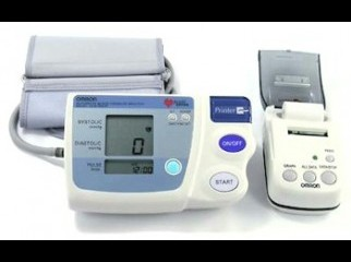 OMRON Automatic BloodPressure Monitor and Printout