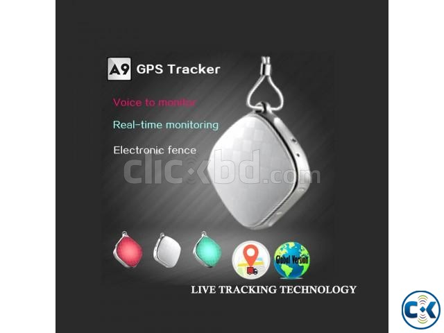 GPS Tracker Mini Live Tracking Spy Device with Voice Monitor | ClickBD large image 0