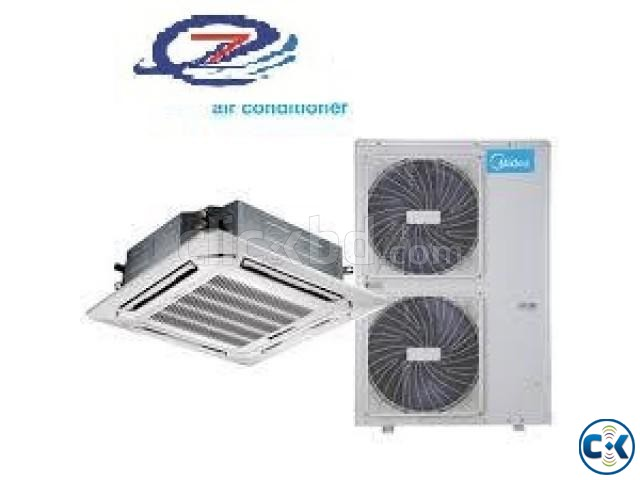 Midea 1.5 Ton Cassette Type AC Winter LESS Offer | ClickBD large image 0