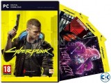 Cyberpunk 2077 PC Game DISC DVD ORIGINALContact