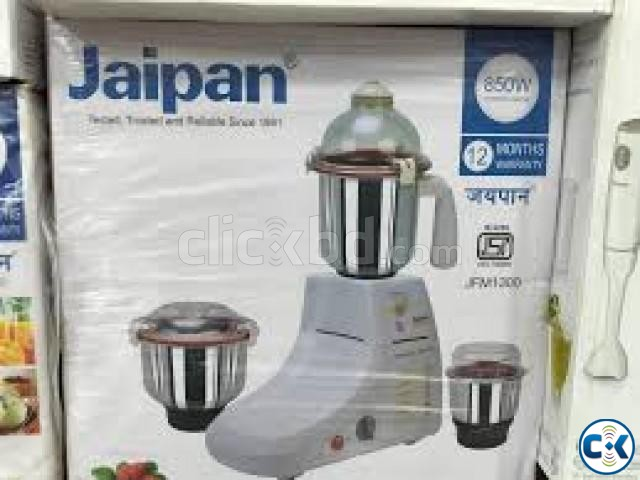 Jaipan Family Mate 850-Watts Mixer Grinder Blender 3 Jar | ClickBD large image 0