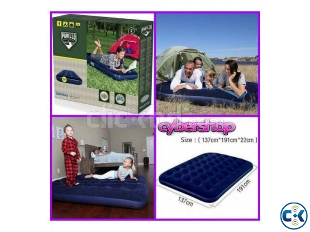 Bestway Double Air Bed With Electronic Pumper | ClickBD large image 1