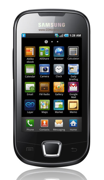 Samsung I5801 Galaxy Apollo Android NEW From UK | ClickBD large image 0