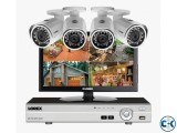 CCTV CAMERA 04 pcs DVR with 500gb HDD Total Package
