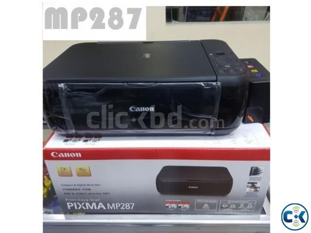 Canon MP287 Colour Multifunction Inkjet Printer | ClickBD large image 1