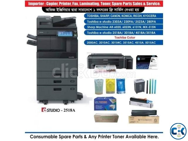 Canon MP287 Colour Multifunction Inkjet Printer | ClickBD large image 3
