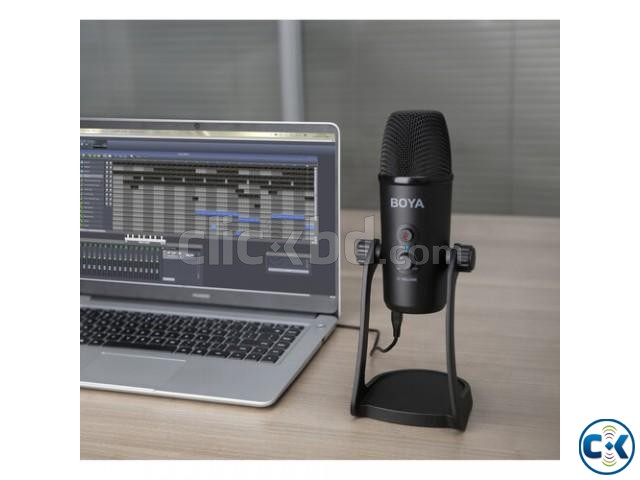 BOYA BY-PM700 Multipattern USB Microphone for Mac Windows | ClickBD large image 3