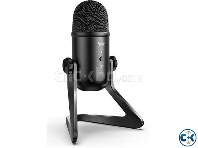 Fifine K678 Studio USB Microphone with a Live Monitoring | ClickBD large image 0