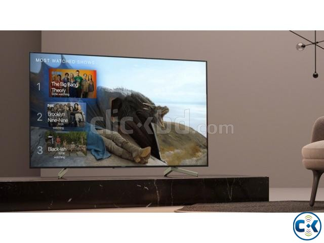 SONY BRAVIA 43 inch X7500H 4K ANDROID VOICE CONTROL TV | ClickBD large image 0
