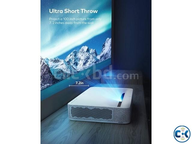 VAVA 4K UST Laser TV Home Theatre Projector | ClickBD large image 1