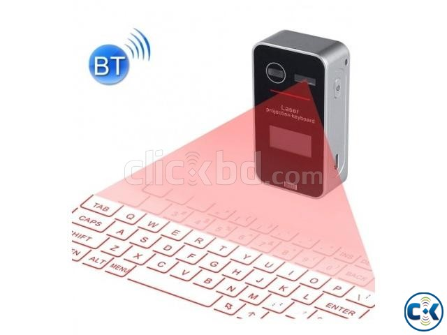 Mini Pocket Virtual Bluetooth Laser Projection Keyboard | ClickBD large image 1
