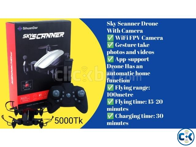Offer Price 4000Tk Sky Scanner Drone With Camera | ClickBD large image 0